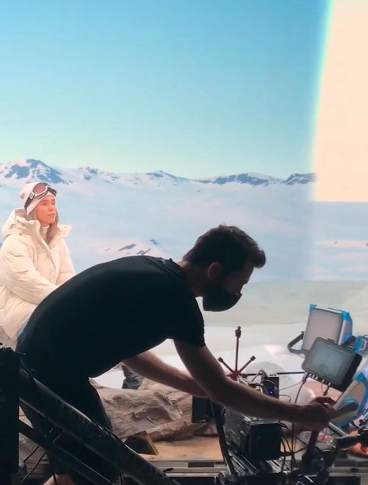 Test de nos derniers outils de production virtuelle avec Studio Grande et Kelvin